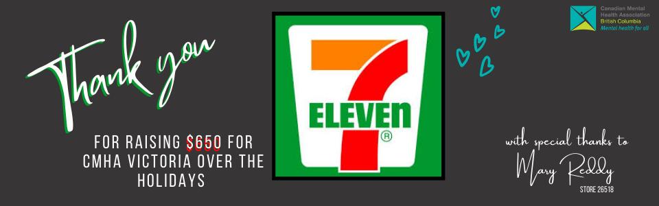 7-Eleven raises $650 for CMHA Victoria